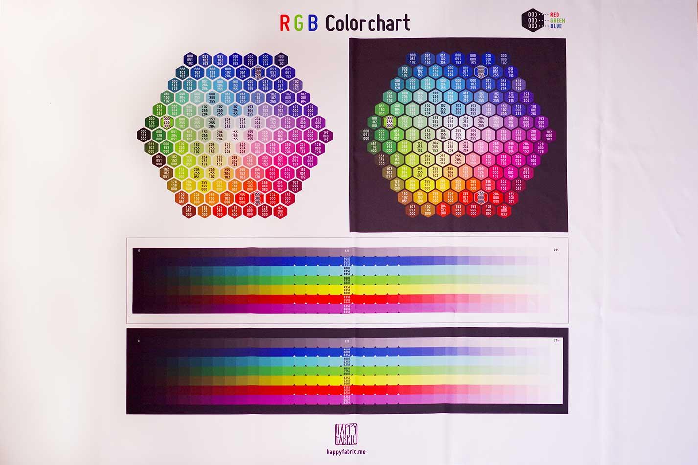 RGBカラー見本