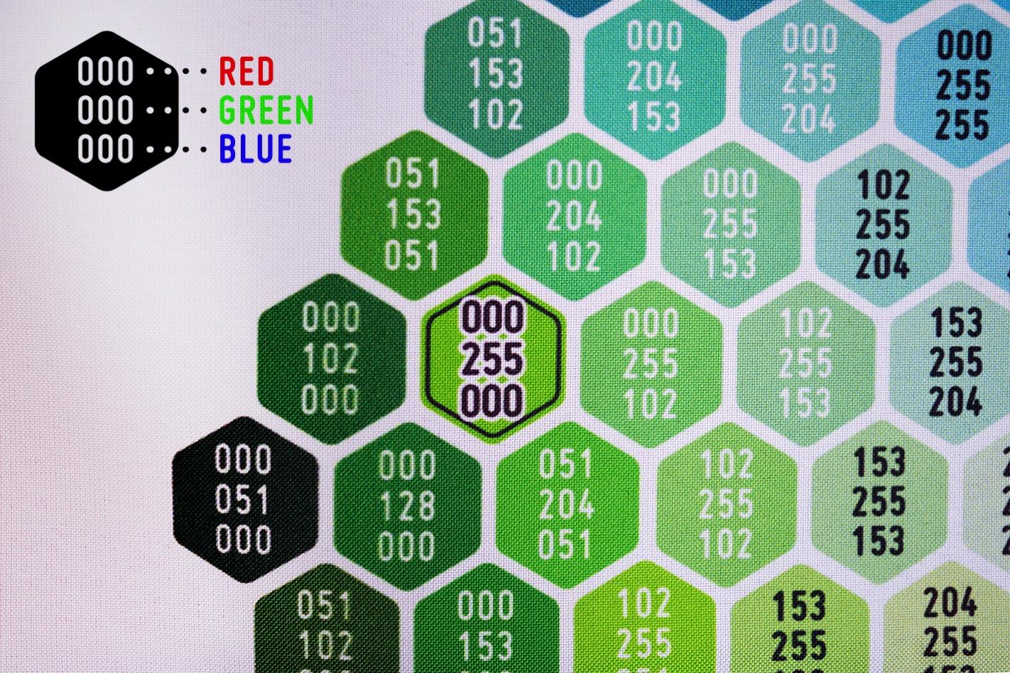 色見本の数値