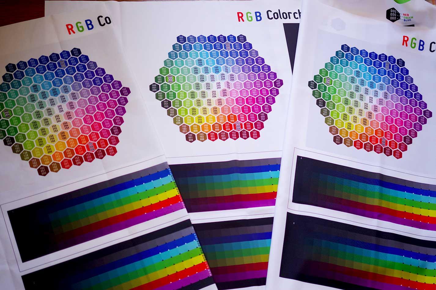 色見本3種