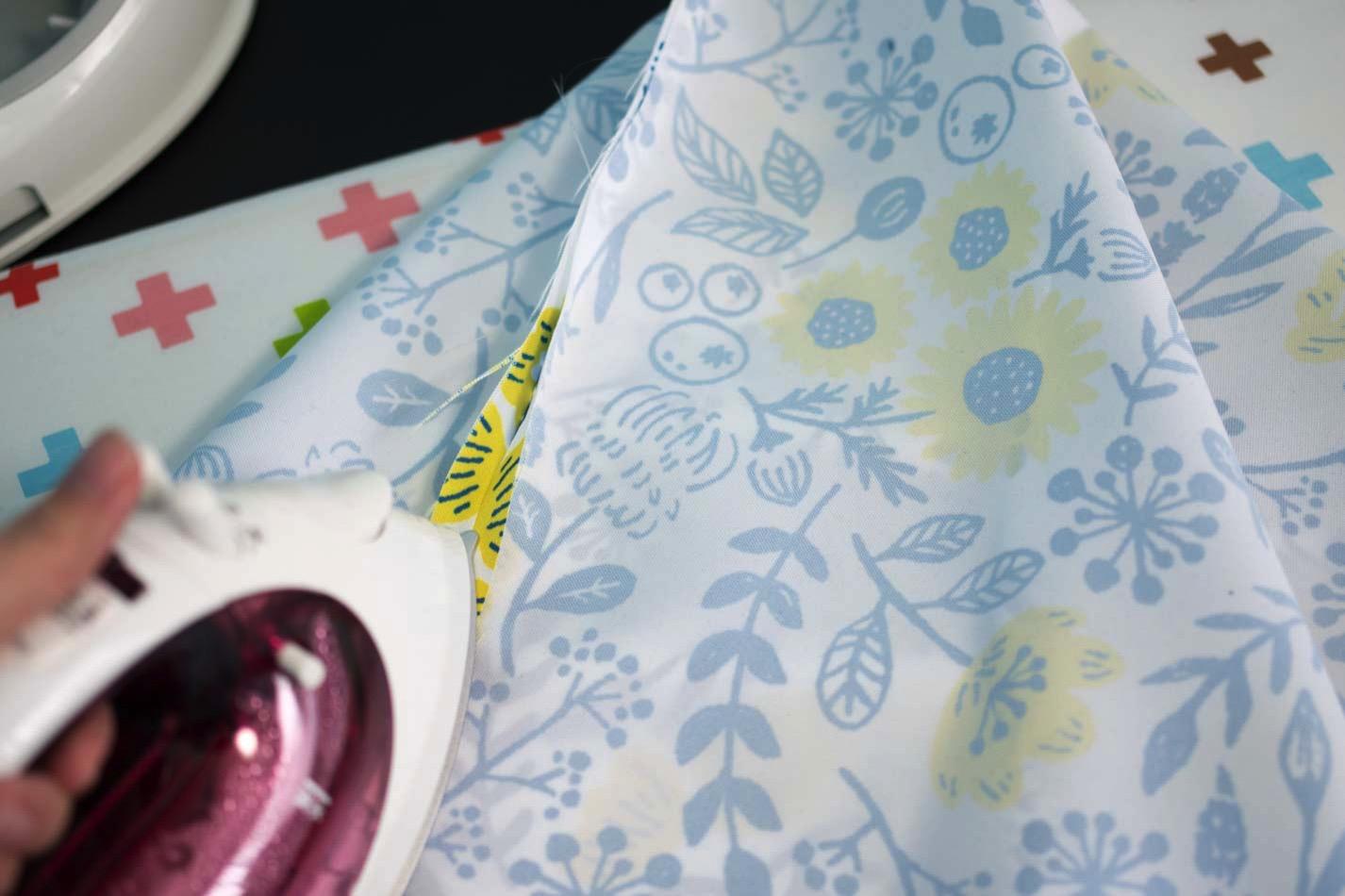 アイロンで縫い代を割る