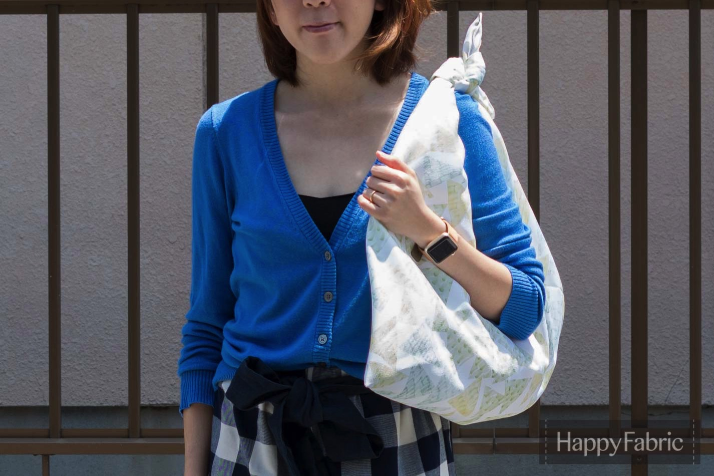 あずま袋の作り方 1